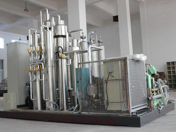 Generador de CO2 por la quema de combustibles fósiles
