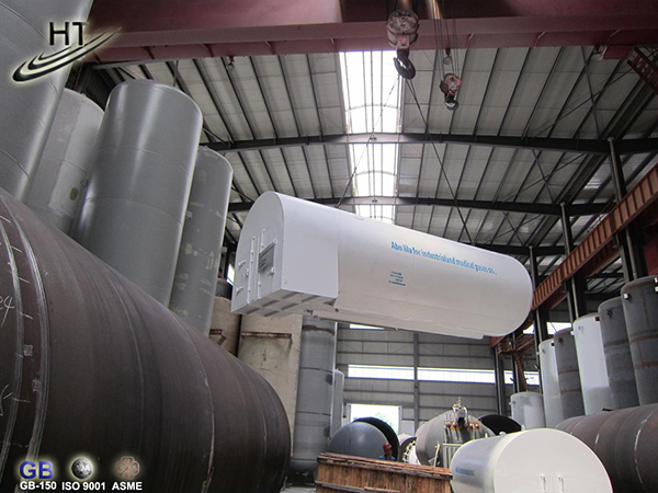 Tanque portátil de CO2 en distribución
