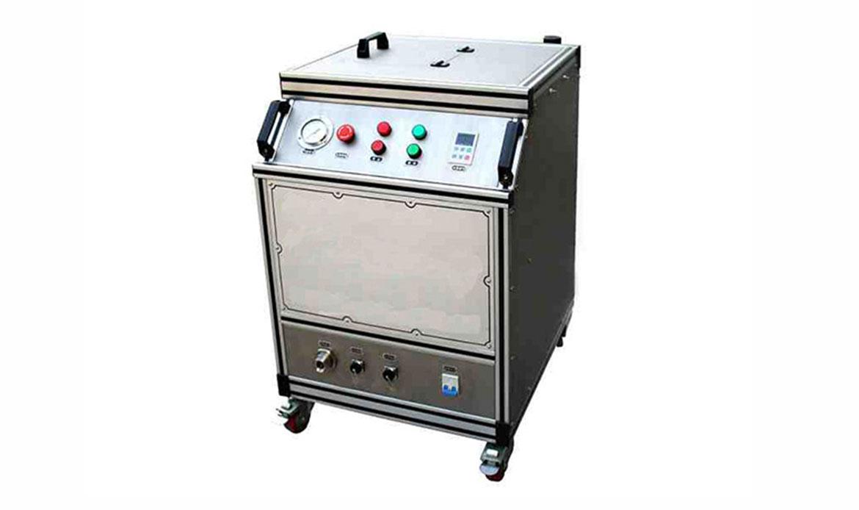 Máquina de limpieza por chorreado de hielo seco