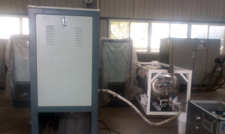 Máquina de producción de hielo seco