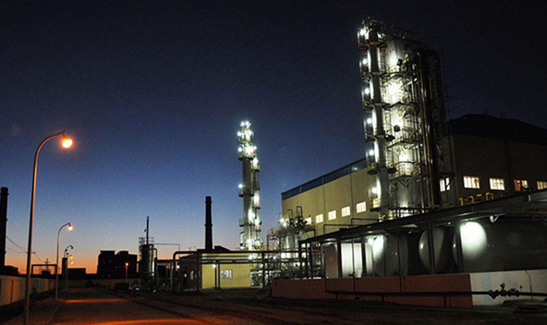 Planta de purificación y licuefacción de GNL