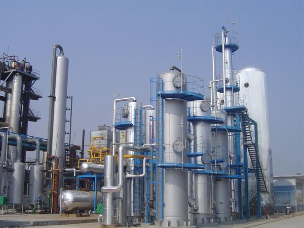 Planta de recuperación de CO2 de fuente rica en CO2