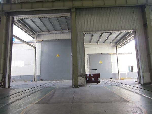 Sala de inspección RT de costura de soldadura general de 25 x 5m