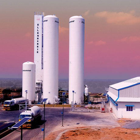 Soluciones profesionales para equipos de gases industriales.